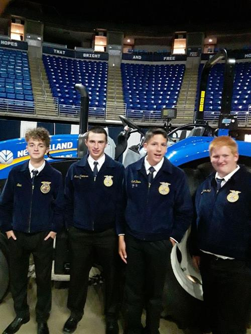 Octorara Ag Students Place in FFA Convention